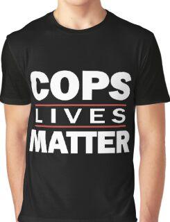 COPS LIVES MATTER. Chicago T-Shirt Graphic T-Shirt