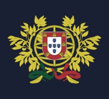 Coat of Arms of Portugal One Piece - Short Sleeve