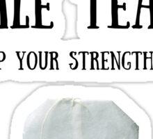 Male Tear Tea Sticker