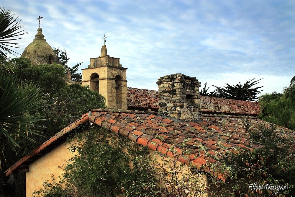 Carmel Mission by Ellen Cotton