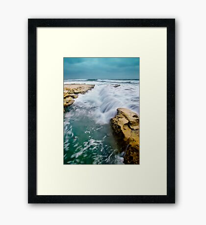 Overrun with Water Framed Print