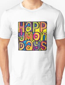 MEN'S HAPPY MONDAYS LOGO T-Shirt