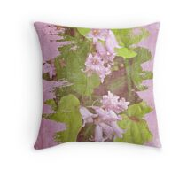 Lily of the Valley - In The Pink #3 Throw Pillow