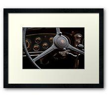 1932 Cadillac Dash Framed Print