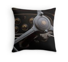 1932 Cadillac Dash Throw Pillow