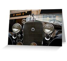 Cadillac V12 Greeting Card