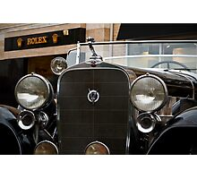 Cadillac V12 Photographic Print