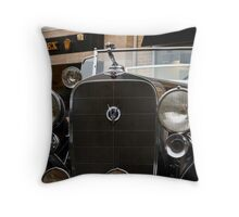 Cadillac V12 Throw Pillow