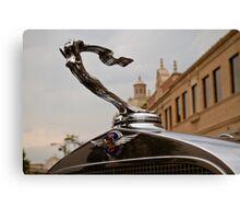 1932 Cadillac Hood Ornament Canvas Print