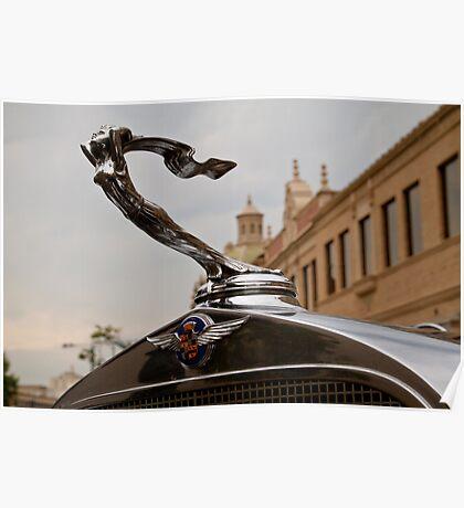 1932 Cadillac Hood Ornament Poster