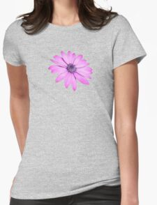 Single Pink African Daisy Against Green Foliage Isolated T-Shirt