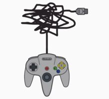 N64 Pad Tangle by TooManyPixels