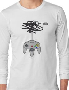 N64 Pad Tangle Long Sleeve T-Shirt