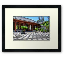 Chinese Tea Place Framed Print
