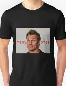 Merry CHRIStmas - WWE, Wrestling, Funny Chris Jericho T-Shirt