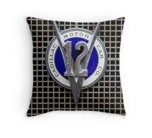 V12 Throw Pillow