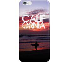 Huntington Beach, California - Surfer iPhone Case/Skin