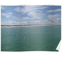 Egmont Key Coastline Poster