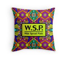 WSP - Wide Spread Panic - Psychedelic Pattern 1  Throw Pillow