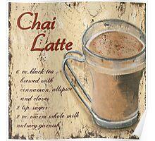 Chai Latte Poster