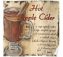 Hot Apple Cider Poster