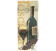 Italian Wine and Grapes 1 Poster