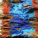 Textured wood - Vintage wallpaper by Bruno Beach