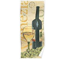 Italian Wine and Grapes 2 Poster