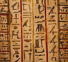 Egypt hieroglyphs by Atanas Bozhikov NASKO