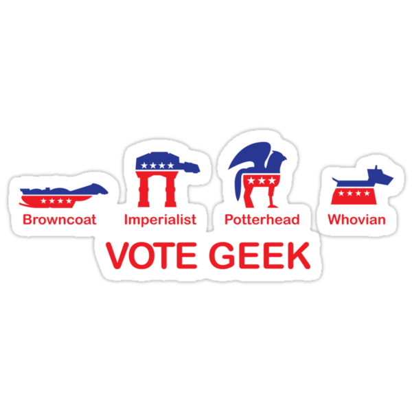 VOTE GEEK by SevenHundred
