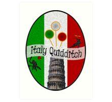 Italy Quidditch Art Print