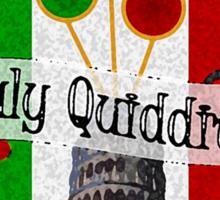 Italy Quidditch Sticker