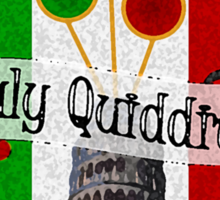 Italy Quidditch Sticker