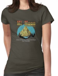 Mt Moon National Park Womens Fitted T-Shirt