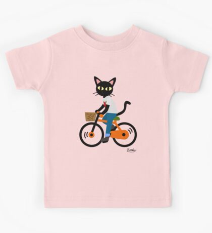 Summer cycling Kids Tee