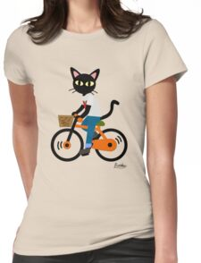 Summer cycling Womens Fitted T-Shirt