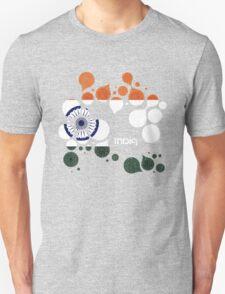 India Flag Circles T-Shirt
