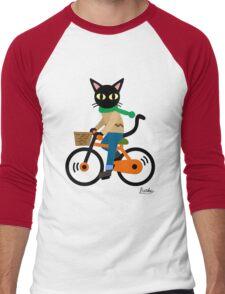 Cycling Men's Baseball ¾ T-Shirt