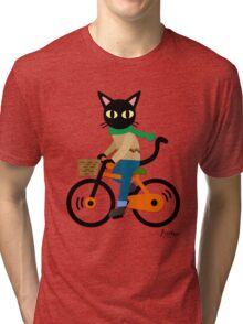 Cycling Tri-blend T-Shirt