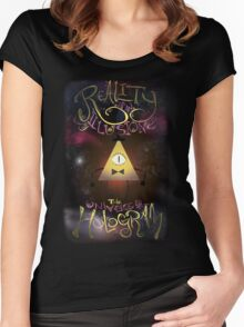Reality is an Illusion - Bill Cipher Women's Fitted Scoop T-Shirt