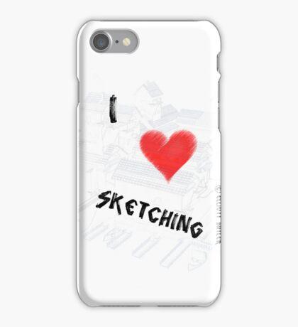 Seatown Sketch iPhone Case/Skin