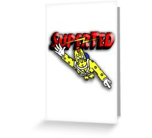 Super Ted Spotty Greeting Card