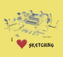 Seatown Sketch One Piece - Short Sleeve