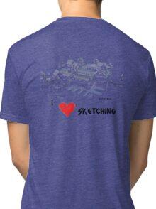 Seatown Sketch Tri-blend T-Shirt