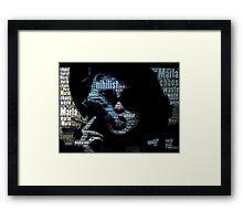 Marla Marla Marla  Framed Print