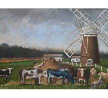 WINDMILL'S FARM Photographic Print
