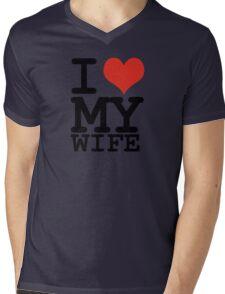 I love my wife Mens V-Neck T-Shirt
