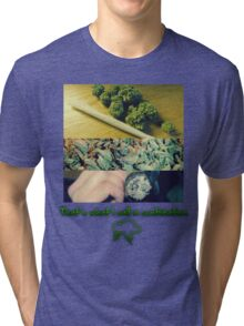 THAT'S A COMBO. Tri-blend T-Shirt