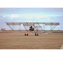 Point Cook Airshow 2014 - Bristol Boxkite Taxiing Photographic Print