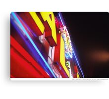 Bright.Night.Lights Canvas Print